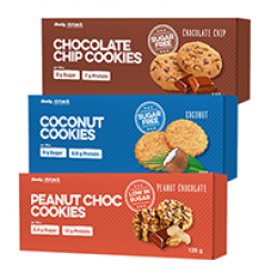 Low Carb Cookies 5x25 gr Ciocc Burro di Arachidi