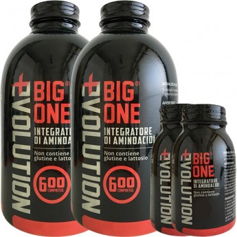 BIGONE EVOLUTION 1200cpr + 100 cpr gratis (OMAGGIO BORRACCIA EVOLUTION)